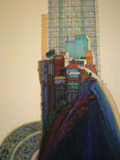 Wayne Thiebaud (cityscapes)