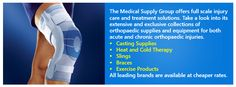 Want to buy medical equipment and supplies? Until you see them on MedicalSupplyGroup.com, don't purchase.