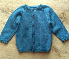 the online pattern store Baby Boy Cardigan, Baby Cardigan Knitting Pattern, Baby Knitting Patterns, Baby Patterns, Baby Coat, Thick Yarn, Dk Weight Yarn, Knitted Coat