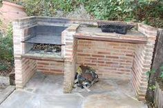 backyard design – Gardening Tips Outdoor Kitchen Grill, Outdoor Barbeque, Pizza Oven Outdoor, Outdoor Cooking, Large Backyard, Backyard Patio, Parrilla Exterior, Brick Grill, Bbq Places