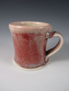 Peach Bloom Cup by johnbrittpottery on Etsy