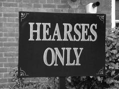 Hearses only