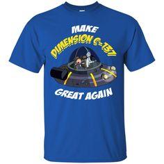 Rick And Morty T shirts Make Dimension C-137 Great Again Hoodies Sweatshirts