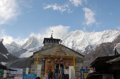 Kedarnath Temple in Uttarakhand in India