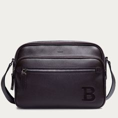 b2214ed367ad Shop the Sommet Large tote bag from Bally. This luxurious leather top  handle design is black with detachable strap and fold over closure
