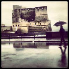 Castel dell'Ovo, Naples, Italy. 40°50′00″N 14°15′00″E