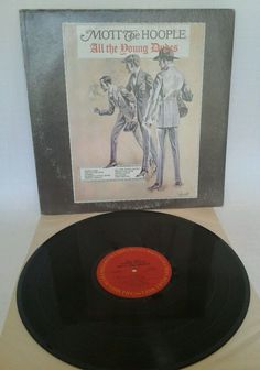 Mott the Hoople Vinyl LP Record All the Young Dudes  COLUMBIA-KC31750 VG+  #HeavyMetal