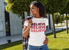 Believe in Yourself T-shirt (Unisex) | Positive Vibes Shirt, Insprational T-shirt, Selflove T-shirt, Empowering Women Shirt Orange Shirt, Shirt Sale, Shirt Price, Believe In You, Women Empowerment, Short Sleeve Tee, Positive Vibes, Cool T Shirts, Unisex