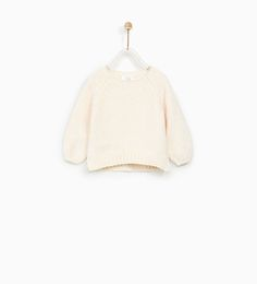 Image 1 of CHENILLE SWEATER from Zara