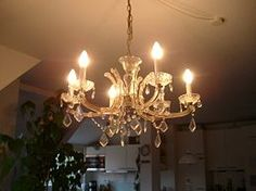 A sparkling crystal chandelier how to regularly clean and heavy clean a crystal chandelier aloadofball Image collections