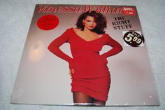 80s Vanessa Williams The Right Stuff full length LP album record vinyl urban soul pop hit dance Wing PolygramDiva