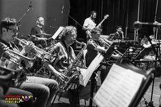 La sezione Fiati dell'Orchestra Generazione Alabarda Spaziale
