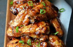 Dolce Diet Living Lean Recipes: Honey Ginger Chicken Wings, approved by Mike Dolce. More recipes available in Living Lean Recipe Book. Click to make!