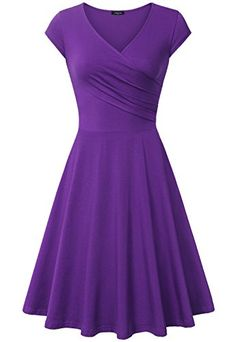 Womens DressLaksmi Womens Elegant Beach Comfortable Simply Prom DressXLarge Purple ** Details can be found by clicking on the image.