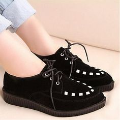 Womens Shoes, Wedges Shoes, Attractive Black Suede Round Closed Toe Super High Heel Wedges