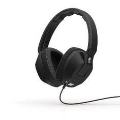 Skullcandy 46118 Crusher 3.5mm Headphone -Black