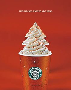 25 creative and effective ads- Check out the Starbucks Holiday Ad -