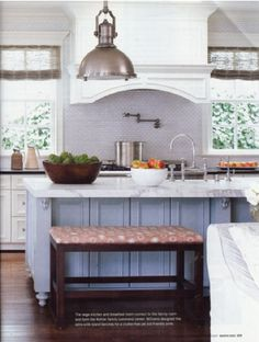 bench for kitchen