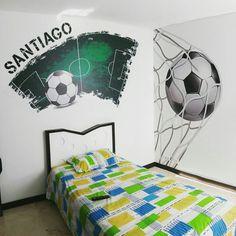 Habitación. Vive con el Futbol!!! By D'corazón. www.dcorazon.net