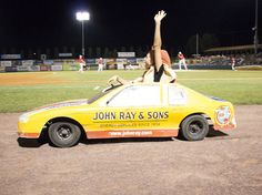 John Ray & Sons Race Car Driven by Hot Dog.