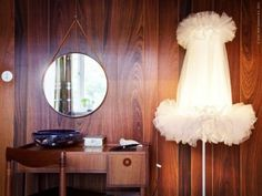 ikea ballet lamp. Read more about my plans with it on my blog www.wallnut.dk