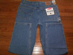 Mouse over image to zoom  Have one to sell? Sell it yourself NEW! MENS 40x32 LEVI'S blue DENIM JEANS pants RELAXED FIT straight leg NWT!