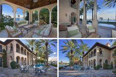 crazy_luxurious_celebrity_villas_10 Expensive Houses, Most Expensive, England Houses, Miami Houses, Boat Slip, Mediterranean Style Homes, Fancy Houses, Billy Joel, Lots Of Money