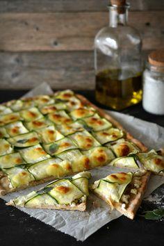 Sweet Gula: Pizza de Courgette e Requeijão (base de espelta)