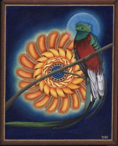 Resplandeciente Quetzal by Don Farrell