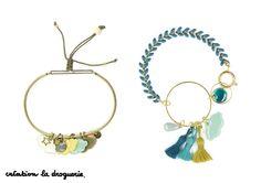 On adore les petits nuages, on les met sur tous nos bracelets !! #ladroguerie #bijou #bracelet