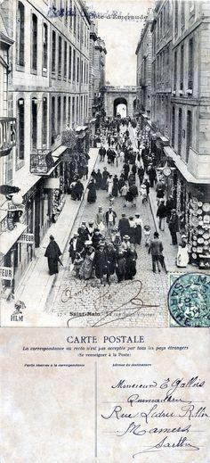 St Malo, Semper Fidelis, Photos, Pictures, Saints, France, Collection, Crowd, Balconies