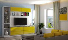 Next Living Room, Living Room Paint, Living Room Colors, Living Room Interior, Living Room Designs, Bedroom Wall Paint Colors, Wall Paint Colour Combination, Blue Walls, Color Combinations