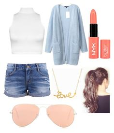 """""""baby blue"""" by orsink ❤ liked on Polyvore"""