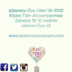 #ayakkabi #ayakkabitukkani #moda #tasarim #topuklu #stil #alisveris #indirim #ask #rengarenk #cizme #bot #kadin #incetopuk #beyaz #benzersiz #detay #fashion #siparis Linke Tıkla Hemen Üye Ol www.ayakkabitukkani.com/uye_ol.asp