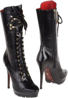 Cesare Paciotti Ankle Boots #http://www.shoeniverse.info/