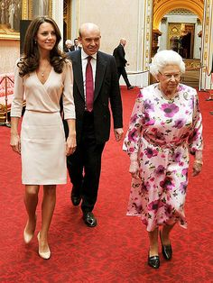 28 The Queen With Kate Ideas Duchess Of Cambridge Kate Middleton Queen Elizabeth Ii