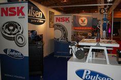 Poulsen exhibiting at IceFish 2014.