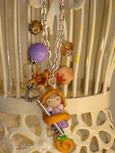 Rapunzel fimo by LeNinfe, via Flickr