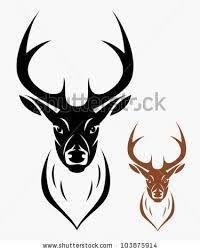 deer head drawing - Sök på Google