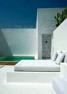 Ideas de terrazas minimalistas 14