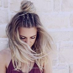 Excellent Braids and Half-up Bun, this hair style is amazing~ The post Braids and Half-up Bun, this hair style is amazing~… appeared first on Hairstyles .