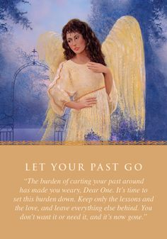 Oracle Card Let Your Past Go | Doreen Virtue | official Angel Therapy Web site