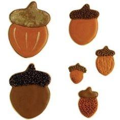 Podrás hacer galletas de la cosecha de otoño bellota.