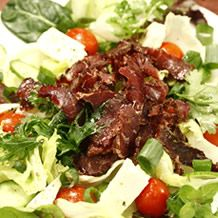 KWV café at the Emporium: biltong salad Beef Salad, Biltong, Grass Fed Beef, Fine Wine, The Cure, Salads, Paleo, Snacks, Amazing