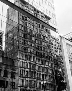 """From: Renee Bajek  @renodesigner  One of my favorite subjects to photograph is architecture as well as reflections. Living in Chicago and working in the heart of downtown or """"The Loop"""" I am blessed to walk down virtually any street and see such a variety of architecture styles. I enjoy capturing architectural details and styles in reflections. The history reflected in the new and shiny is a wonderful exploration in a city steeped with architectural relevance on every street…"""