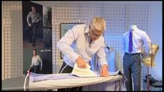 How To Iron A Shirt the professional way -TM Lewin Sewing Hacks, Sewing Tutorials, Tm Lewin, Bespoke Clothing, Iron Shirt, How To Iron Clothes, Couture Sewing, Fashion Sewing, Men's Fashion
