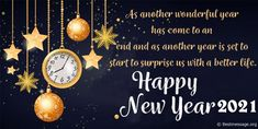 Happy New Year 2021 Wishes, Messages, Quotes, Images, New Year Whatsapp Status, New Year Greetings, New Year Wallpaper, Photos and Pics #HappyNewyear #HappyNewyearWishes #NewYear2021 #NewYearMessages #NewyearImages Happy New Year Greetings Messages, Birthday Wishes For A Friend Messages, Wedding Wishes Messages, Christmas Wishes Messages, New Year Messages, Best New Year Wishes, New Year Wishes Images, New Year Wishes Quotes, Happy New Year Quotes