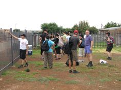 Einteilung der Bauteams #KITA #Nkululeko #Südafrika #Orange Farm