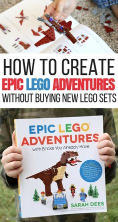 How to Create Epic Lego Adventures without Buying Another Set Ever via @lemonlimeadv