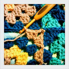 Joining Granny Squares: How-To